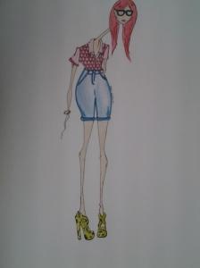 עדן מלאכי, אני פרידמן, אקדמיה לעיצוב אופנה, עיצוב אופנה,איור אופנה,סטיילינג,fashion academy, annie friedman