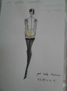 אני פרידמן, אקדמיה לעיצוב אופנה, עיצוב אופנה,איור אופנה,יעל קרמר,סטיילינג,fashion academy, annie friedman