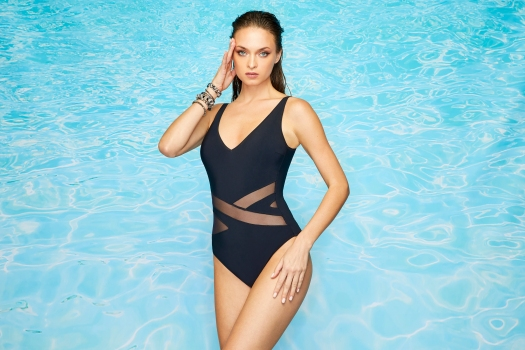 Designed by Annie Friedman for COBRA Swimwear